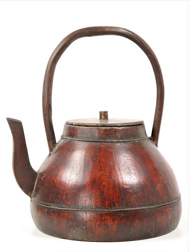 Antique Chinese Redware Teapot