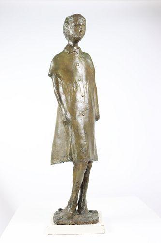Bronze Sculpture of a Girl