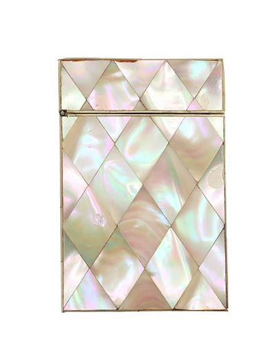 Mother of Pearl Match Box