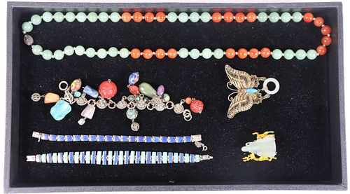 (6) Collection of Assorted Jewelry
