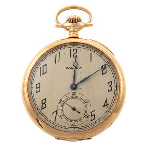 A 14K Antique Waltham Pocket Watch
