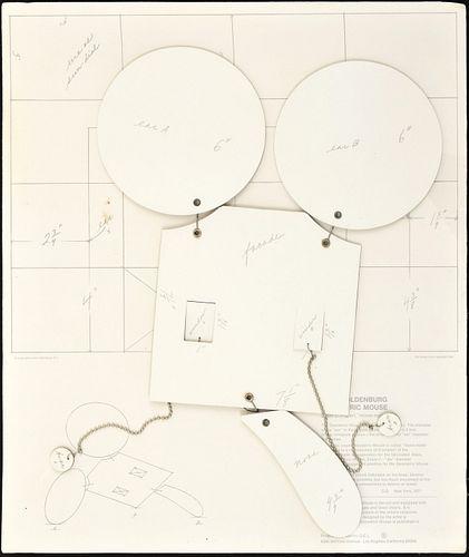 """Claes Thure Oldenburg """"Geometric Mouse"""" 3D Print"""