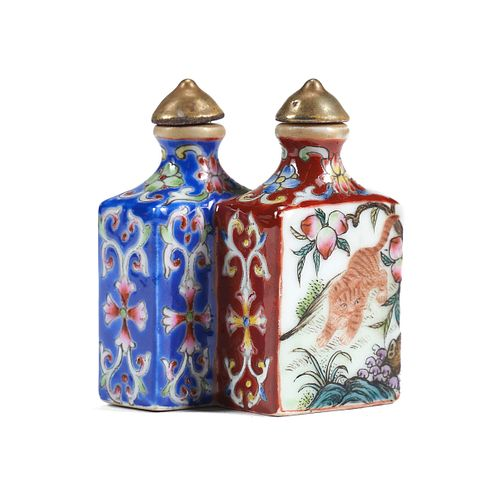 Chinese Porcelain Double Snuff Bottle