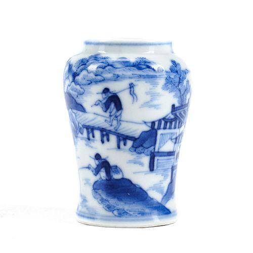 Chinese Yongzheng Porcelain Snuff Bottle - Marked