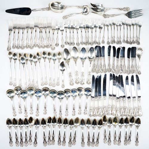 Set of Reed & Barton Francis I Sterling Silver Flatware