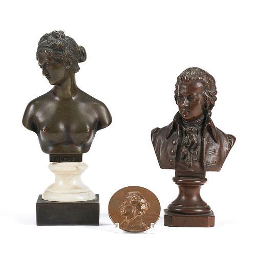 Grp: 3 Bronzes - Eugen Boermel & Alfred Rothberger