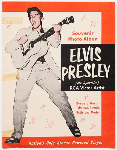 Elvis Souvenir Photo Album 1956
