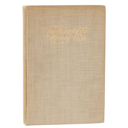 """Alexis Fournier Signed Book """"The Homes of the Men of 1830"""""""