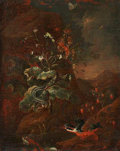 Attrib. Franz Michael Siegmund von Purgau Old Master Oil on Canvas