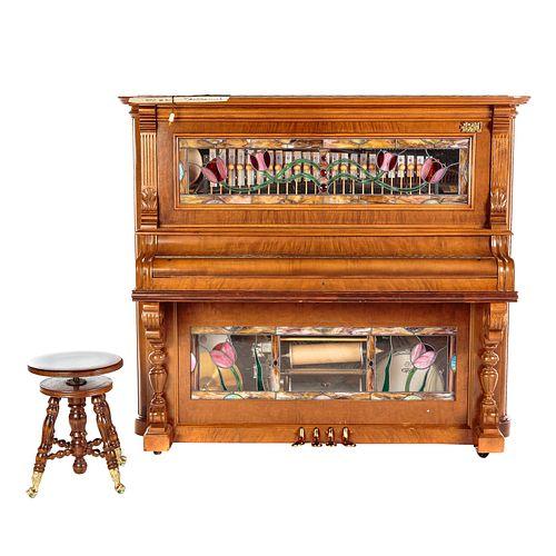 Kroeger Piano Nickelodeon Band Organ