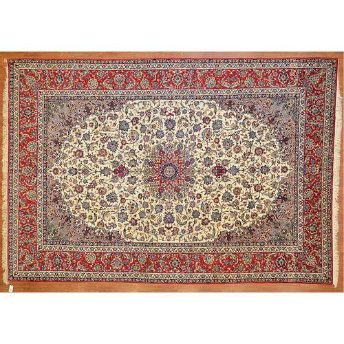 Isfahan Carpet, Persia, 10 x 13