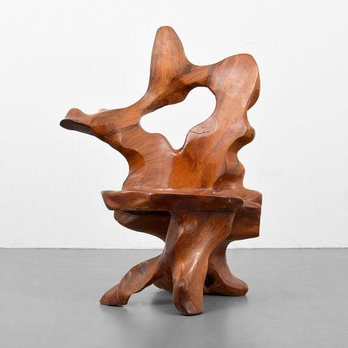 Redwood Craftsman Chair