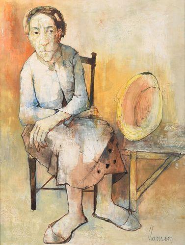 Large Jean Jansem Painting