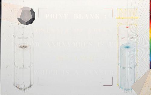 """Massive Shusaku Arakawa Painting, 102""""W"""