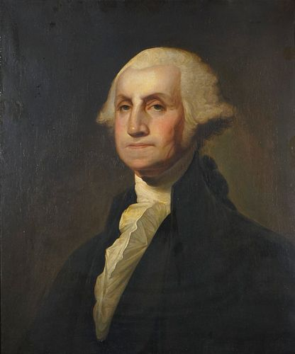 Gilbert Stuart (American 1755-1828)   Israel Kinsman Portrait of George Washington  1803-1805