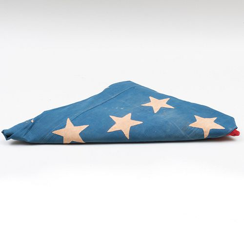 American Thirty-Six Star Muslin Flag Commemorating Nevada Statehood