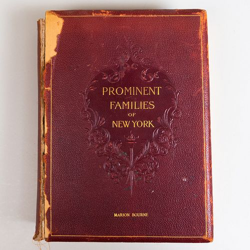 Marion Bourne: Prominent Families of New York
