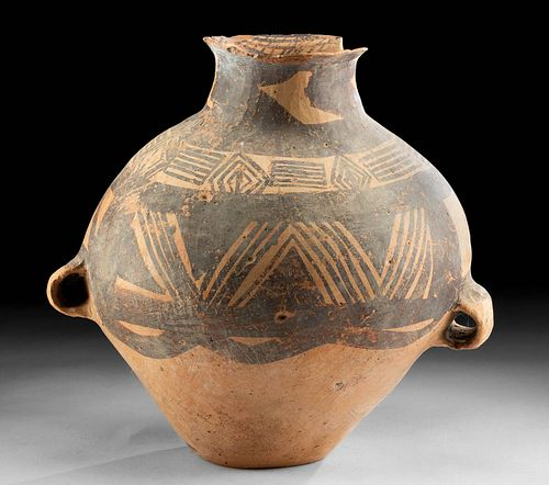 Neolithic Chinese Pottery Vessel - Majiayao Culture