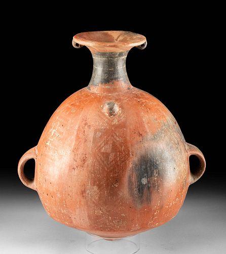 Large Inca Polychrome Urpu / Aryballos