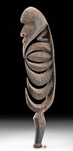 20th C. Papua New Guinea Wood Hook Figure (Yipwon)