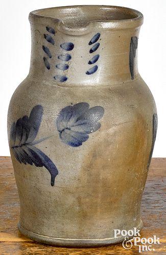 Large Pennsylvania stoneware pitcher