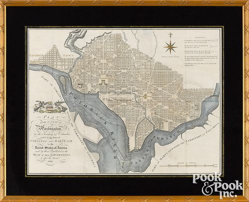 Plan of the City of Washington by John Russell