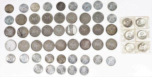 Assorted Silver Coin Collection