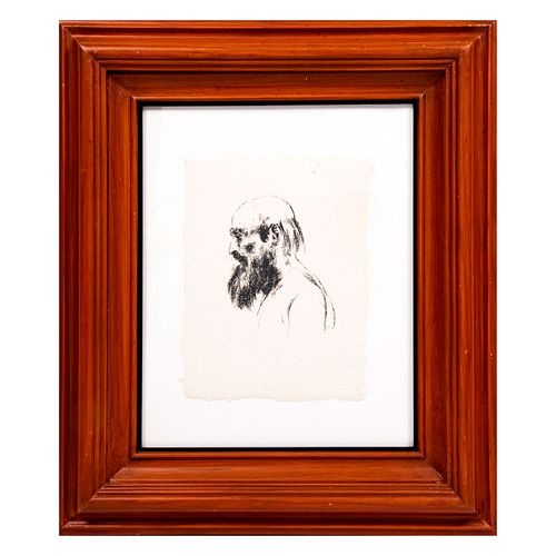 RAFAEL CORONEL San Francisco de perfil Sin firma Serigrafía sin número de tiraje Enmarcada Con certificado de autenticidad.