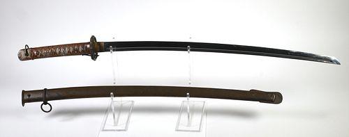 JAPANESE Type 95 Shin-gunto NCO Katana Sword