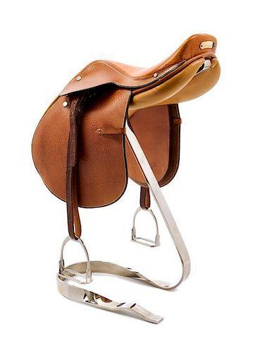 An Hermes Steinkraus Miniature Saddle,