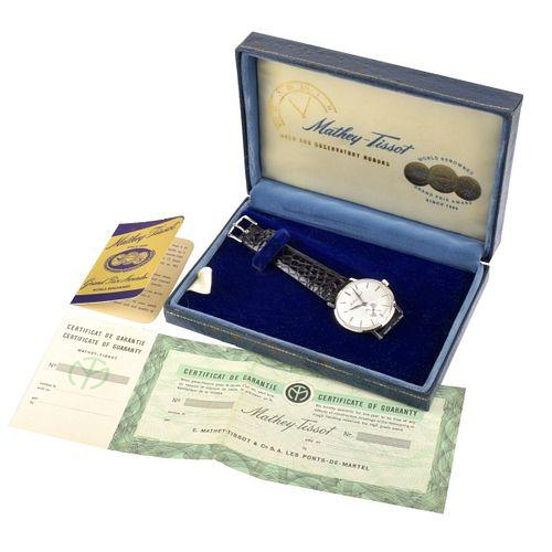 Mathey-Tissot 18K Watch