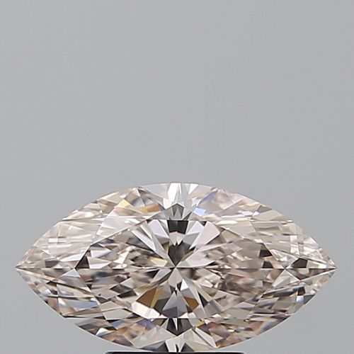 2.01 ct, Natural Light Pinkish Brown Color, VVS1, Marquise cut Diamond (GIA Graded), Unmounted, Appraised Value: $119,300