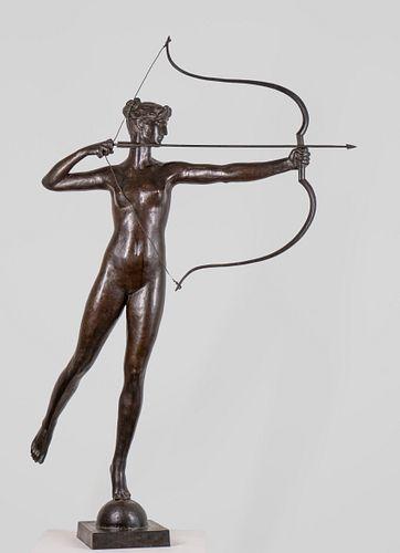 Augustus Saint- Gaudens (American 1848-1907) DIANA  Bronze