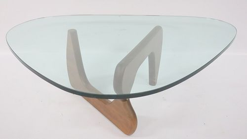 Vintage Signed Noguchi Glass Top Coffee Table For Sale At Auction On 7th February Bidsquare