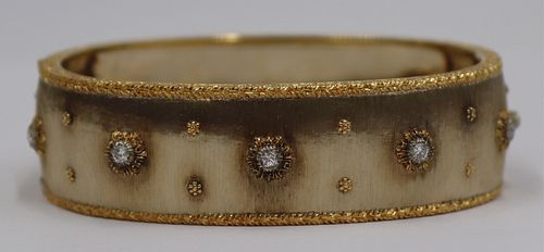 JEWELRY. Buccellati Macri 18kt Gold and Diamond