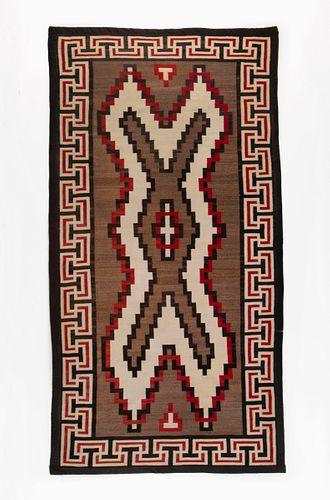 A Navajo Teec Nos Pos Textile, ca. 1940
