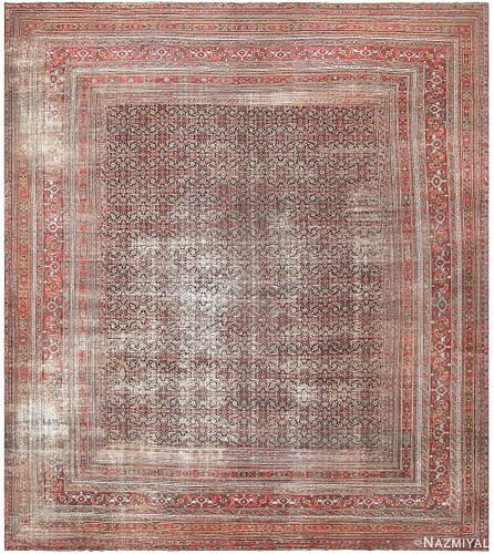 ANTIQUE SHABBY CHIC PERSIAN KHORASSAN CARPET