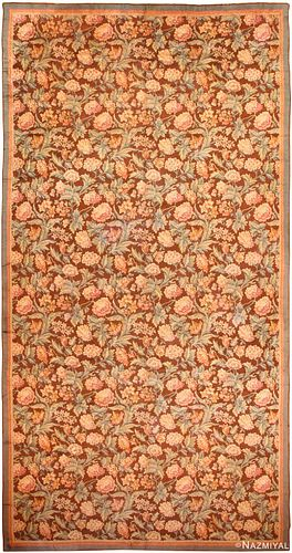 ANTIQUE FRENCH SAVONNERIE RUG, 21 ft 6 in x 11 ft 4 in