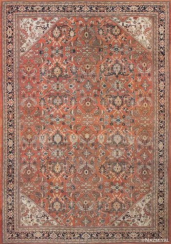 ANTIQUE PERSIAN SULTANABAD RUG, 20 ft x 13 ft 10 in
