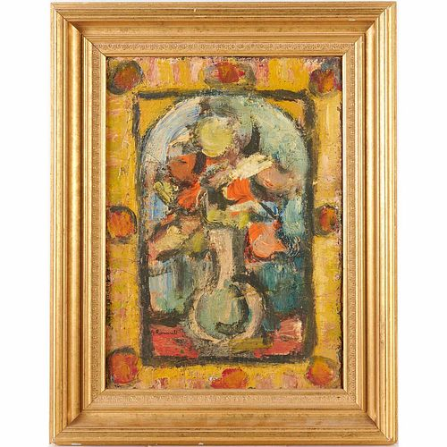 George Rouault (attrib.), Still Life painting