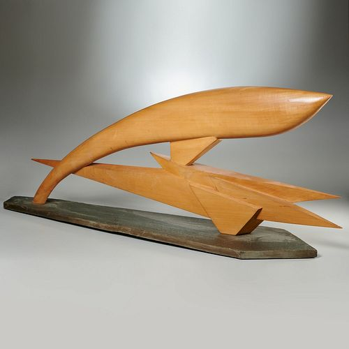 Michel Gillet, large Futurism sculpture