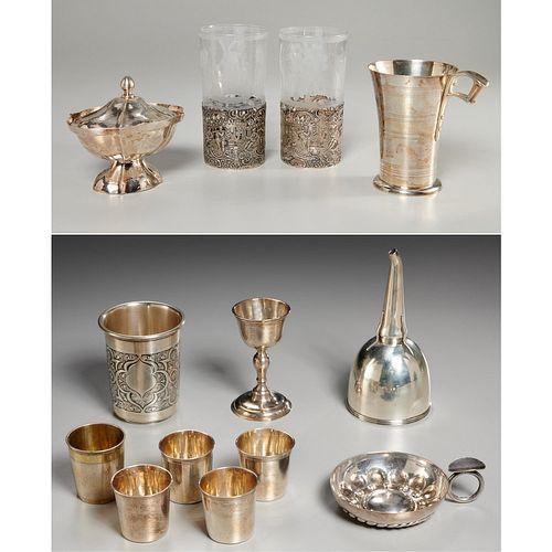 Antique silver tableware & barware
