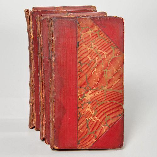 Malory, La Mort D'Arthur, 1816, (3) vols