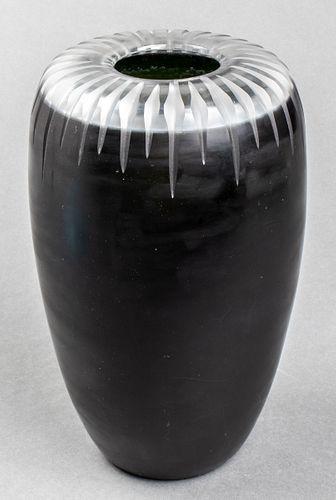 Venini Modern Art Glass Vase, 1997