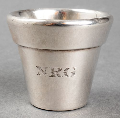 Bulgari Sterling Silver Shot Glass