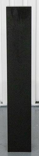 Modern Black Wood Pedestal