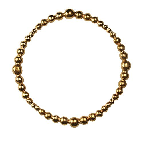Gold-plated Bronze Bangle