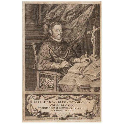 Palafox y Mendoza, Juan de. Historia Real Sagrada. Luz de Príncipes y Súbditos... Madrid, 1661. 1 lámina.