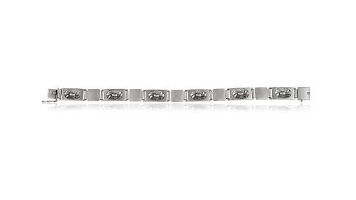 Georg Jensen Art Deco Bracelet #56B