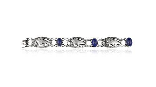 Georg Jensen Bracelet #82 Lapis Lazuli
